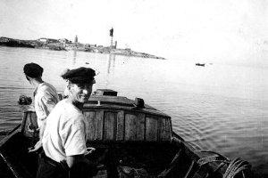 Fiske vid Understen på 40 talet med Martin Sjölander