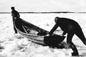 Vinter fiske